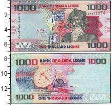 Изображение Банкноты Сьерра-Леоне 1000 леоне 0  UNC-