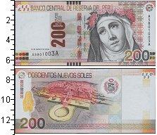 Изображение Боны Перу 200 соль 0  UNC-
