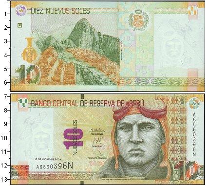 Картинка Банкноты Перу 10 соль  0