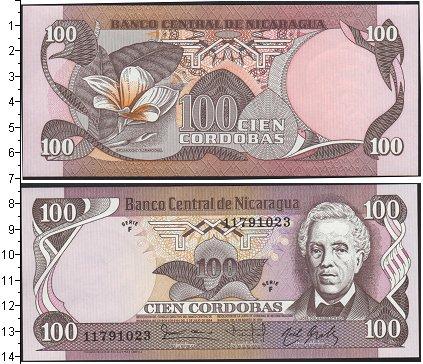 Картинка Боны Никарагуа 100 кордобас  1984