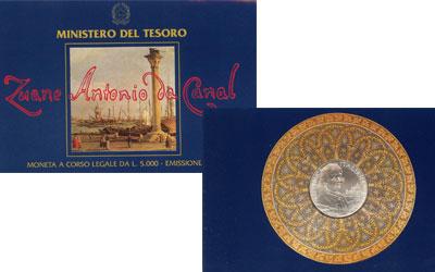 Изображение Подарочные наборы Италия Джованни Антонио Каналь 1997  UNC