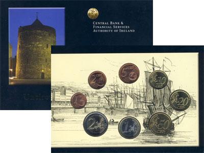 Изображение Подарочные монеты Ирландия Евронабор 2004 2004  UNC В наборе 8 монет ном