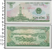 Изображение Банкноты Вьетнам 5 донг 1985  UNC-