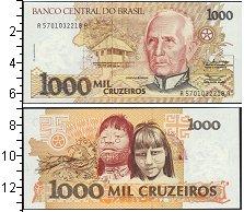 Изображение Боны Бразилия 1000 крузейро 0  UNC-