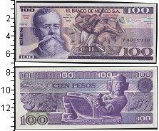 Изображение Боны Мексика 100 песо 1982  UNC-