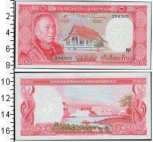 Изображение Банкноты Лаос 500 кип 0  UNC
