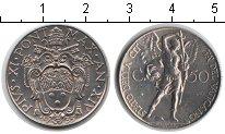 Изображение Монеты Ватикан 50 сентим 1935 Медно-никель XF