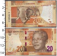 Изображение Боны ЮАР 20 рандов 0  UNC- слон