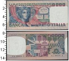 Изображение Боны Италия 50000 лир 0  UNC-