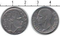 Изображение Монеты Италия 20 сентесим 1942 Медно-никель XF Витторио Имануил III