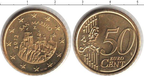 Картинка Мелочь Сан-Марино 50 евроцентов  2007