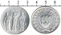 Изображение Мелочь Сан-Марино 5 евро 2003 Серебро UNC Независимость, терпи
