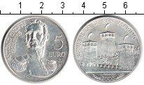 Изображение Монеты Сан-Марино 5 евро 2005 Серебро UNC