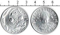 Изображение Монеты Сан-Марино 5000 лир 1999 Серебро UNC