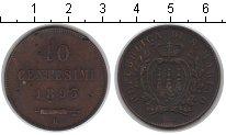 Изображение Монеты Сан-Марино 10 сентесим 1893 Медь VF