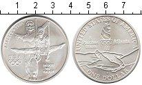 Изображение Монеты США 1 доллар 1995 Серебро UNC- XXVI Олимпиада