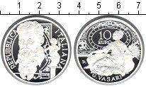 Изображение Монеты Италия 10 евро 2011 Серебро Proof 500 лет со дня рожде