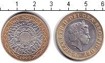 Изображение Монеты Великобритания 2 фунта 1999 Биметалл XF
