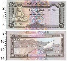 Изображение Банкноты Йемен 20 риалов 1990  UNC