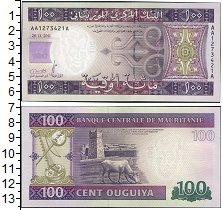 Изображение Боны Мавритания 100 угий 2011  UNC-