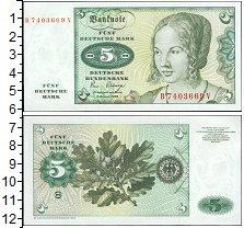 Изображение Боны ФРГ 5 марок 1980  UNC