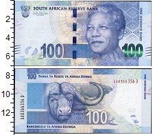 Изображение Боны ЮАР 100 рандов 0  UNC