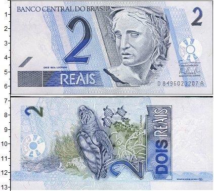 Картинка Боны Бразилия 2 реала  0