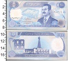 Изображение Банкноты Ирак 100 динар 1994  UNC-