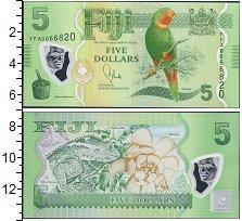 Изображение Банкноты Фиджи 5 долларов 0  UNC-