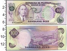 Изображение Банкноты Филиппины 100 песо 0  UNC-