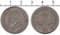 Изображение Монеты Гаити 20 сантимов 1907 Медно-никель