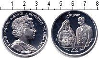 Изображение Монеты Сендвичевы острова 2 фунта 2006 Серебро Proof 80 лет со дня рожден