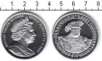 Изображение Монеты Виргинские острова 10 долларов 2007 Серебро Proof- Елизавета II