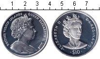 Изображение Монеты Виргинские острова 10 долларов 2006 Серебро Proof Елизавета II
