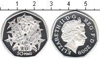 Изображение Монеты Великобритания 50 пенсов 1998 Серебро Proof- Елизавета II.