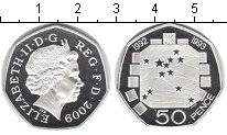 Изображение Монеты Великобритания 50 пенсов 2009 Серебро Proof-