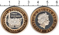 Изображение Монеты Великобритания 2 фунта 2004 Серебро Proof
