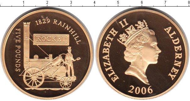 Картинка Монеты Олдерни 5 фунтов  2006