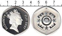Изображение Монеты Фиджи 10 долларов 2007 Серебро Proof Бриллиантовая свадьб