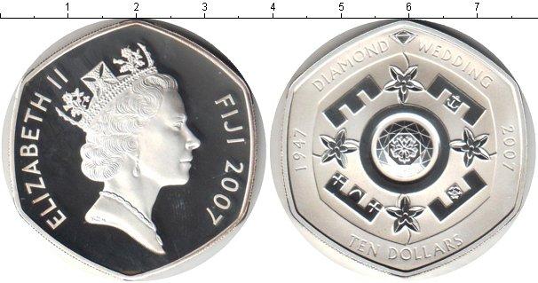 Картинка Монеты Фиджи 10 долларов Серебро 2007