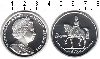 Изображение Монеты Сендвичевы острова 2 фунта 2006 Серебро Proof