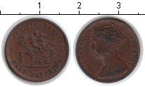 Изображение Монеты Великобритания 1/2 фартинга 1887 Медь VF Модель