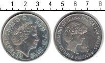 Изображение Монеты Великобритания 5 фунтов 1999 Медно-никель XF Елизавета II