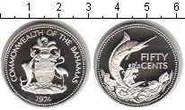 Изображение Мелочь Багамские острова 50 центов 1974 Серебро Proof