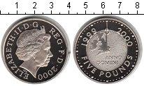 Изображение Монеты Великобритания 5 фунтов 1999 Медно-никель Proof Миллениум