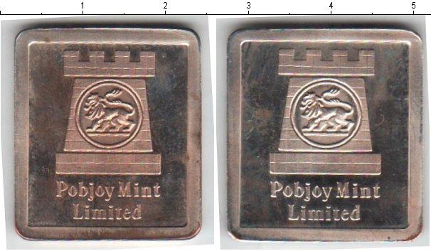 Картинка Монеты Великобритания жетон Серебро 0