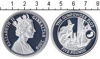 Изображение Монеты Гибралтар 5 фунтов 2009 Серебро Proof-