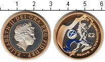 Изображение Монеты Великобритания 2 фунта 2002 Серебро Proof