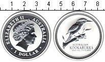 Изображение Монеты Австралия 1 доллар 2003 Серебро Proof Кукабурра. Проба 999