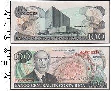 Изображение Боны Коста-Рика 100 колонес 0  UNC-